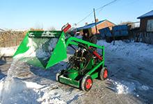长期供应 道路扫雪机 批发清雪机 多功能滑移装载机