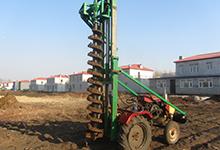 新型光伏桩挖坑机2万元