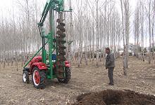 挖坑机油炸杆挖坑机2万元