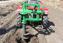 大量生产 生产便携式钻坑机 侧挖钻坑机专业垄上钻坑机大型挖坑机