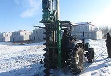 电动挖坑机