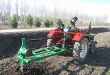 大量销售 大型挖坑机 农业挖坑机 四轮带动 强压钻坑机