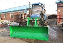 厂家供应 扫雪机小型 扫雪机动力 扫雪机扬雪机 新发王权推土铲