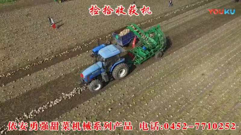 4TJ-6型甜菜捡拾收获机