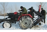 专业定制 草原标桩钻坑机挖坑机 四季钻坑机 挖坑机钻地冻土硬地