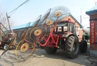 长期供应 圆盘指盘式搂草机 8指盘玉米牧草秸秆搂草机三包一年
