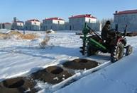 现货供应 钻坑机 挖树坑机 冬季植树钻坑机直径40厘米深度40厘米