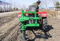 我爱发明 播出 勇强侧挖树坑机 专业垄上 挖坑机 林业钻坑机
