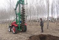 江苏挖坑机油炸杆挖坑机2万元