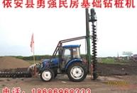电动民房基础钻坑机4万元直径40厘米深度4米 (1)