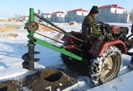 冬季植树钻坑机直径40厘米深度40厘米 (3)