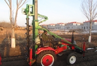 电线杆钻坑机四轮车安装液压脚23500元