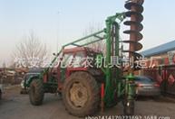 电线杆钻坑机 光伏桩钻坑机 厂库房基础钻桩机