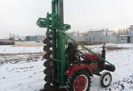电线杆挖坑机挖掘机配套 (1)
