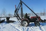大量生产挖坑机电线杆钻坑机水泥杆钻坑机冬季作业每坑8分钟