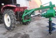 大量生产 悬挂钻坑机侧挖四季冻土硬地 高效农林挖坑机种植机械